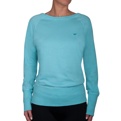 OAMARU - Long Sleeve Sweatshirt - Aquasky