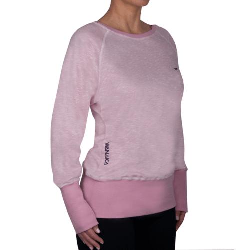 OAMARU - Long Sleeve Sweatshirt - Reflection Pink